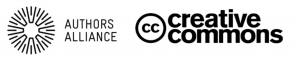 Authors Alliance and Creative Commons logos